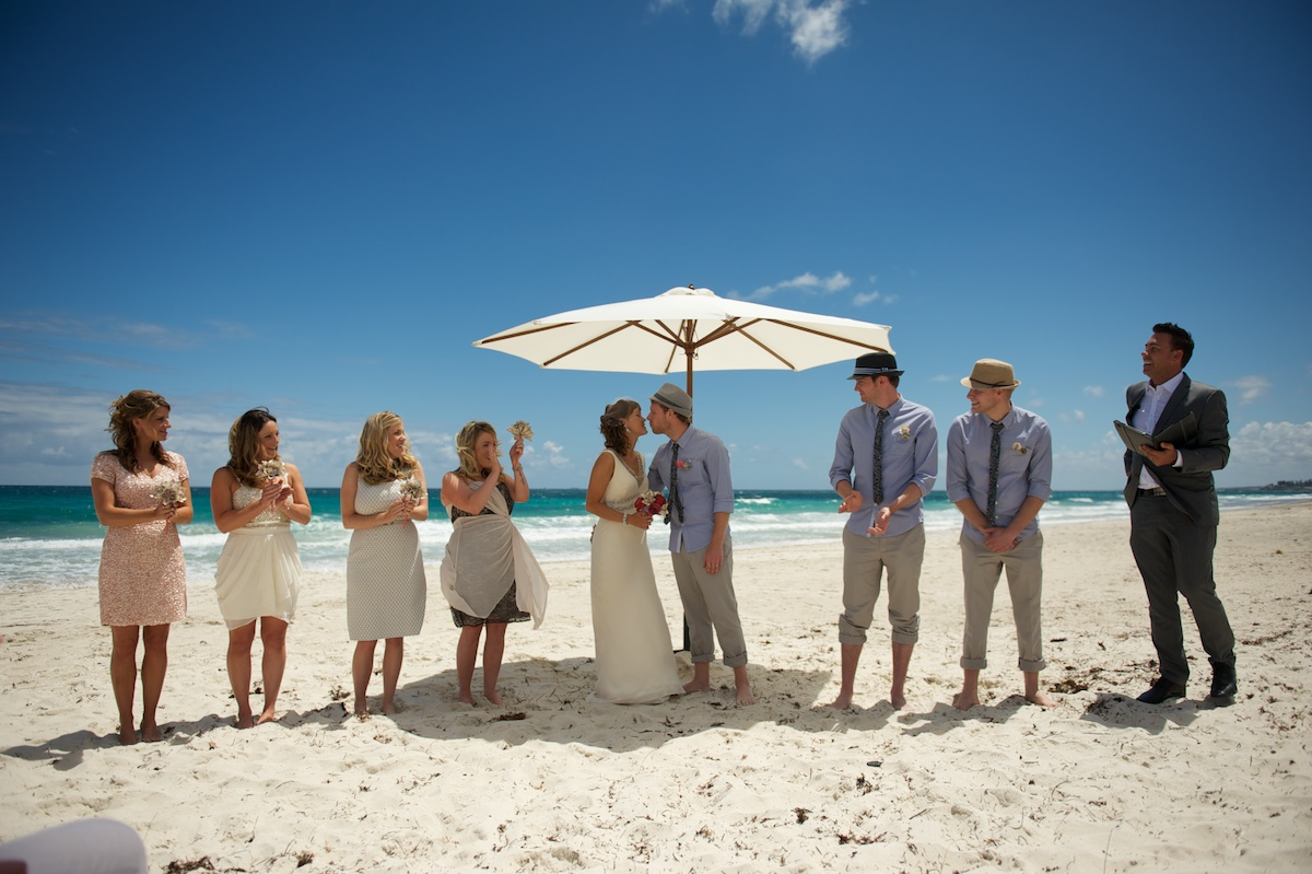 salt on the beach wedding  perth  australia  u2013 dani  u0026 steve