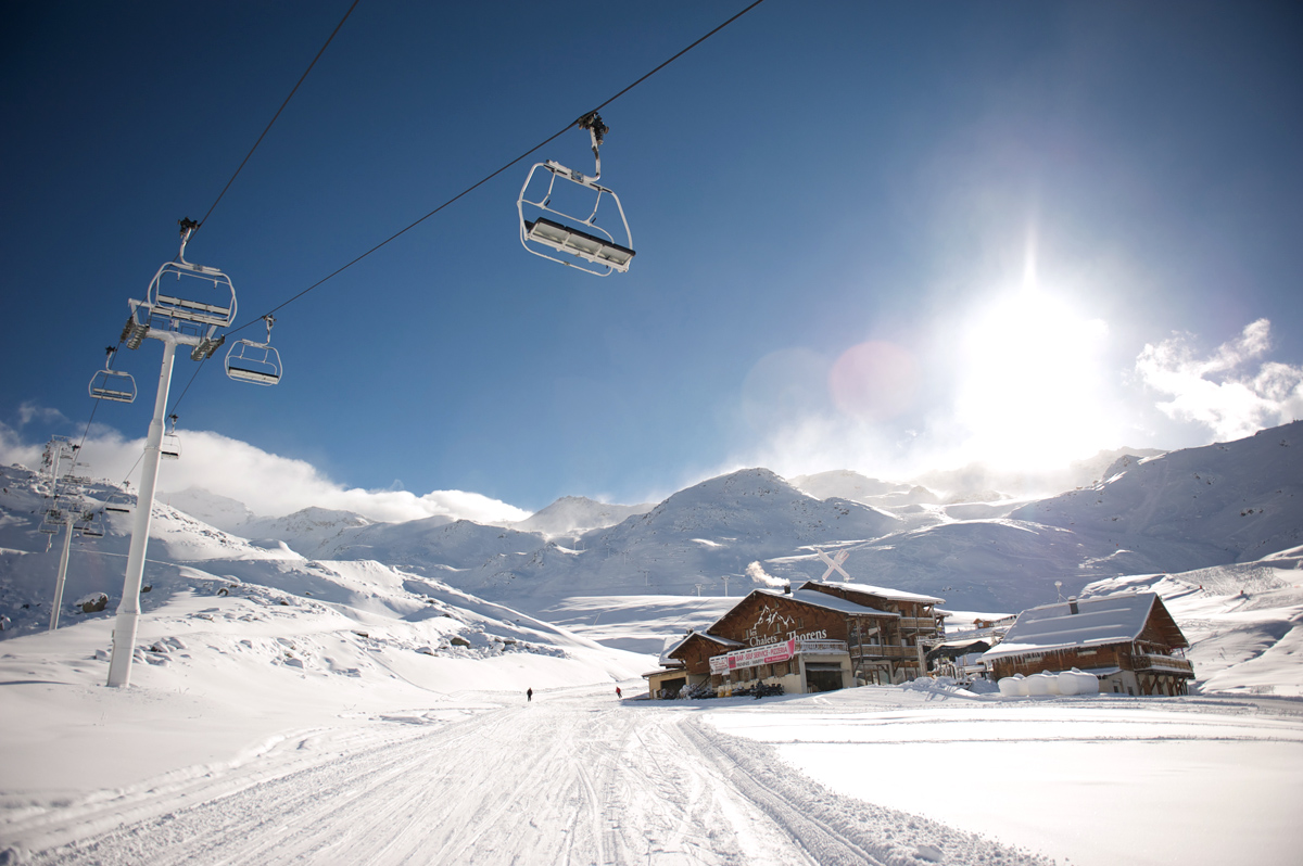 Val thorens Bar 360 and lifts